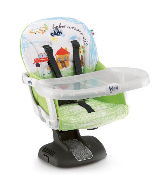 تصویر از صندلی غذا پرتابل Cam مدل Idea