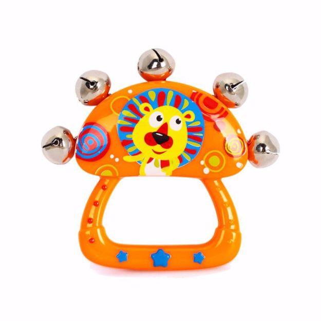تصویر از جغجغه Huile Toys مدل Hand Bell
