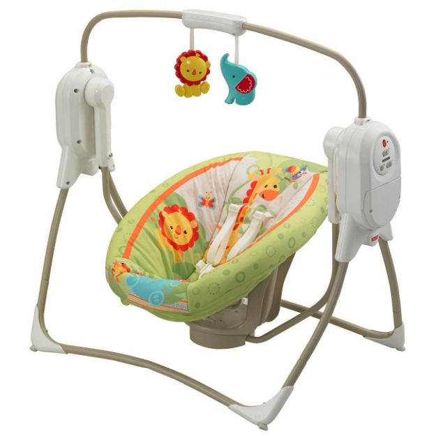 تاب و گهواره برقی نوزاد و کودک فیشر پرایس