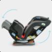 تصویر از صندلی ماشین گراکو مدل Extend2Fit