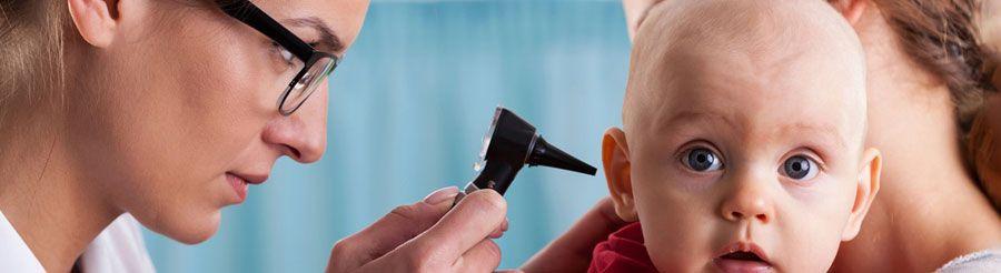 تشخیص و درمان عفونتهای گوش در کودکان
